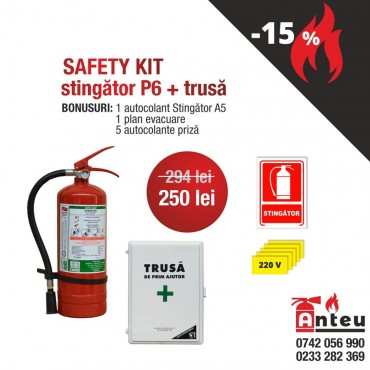 SAFETY KIT stingator P6 + trusa