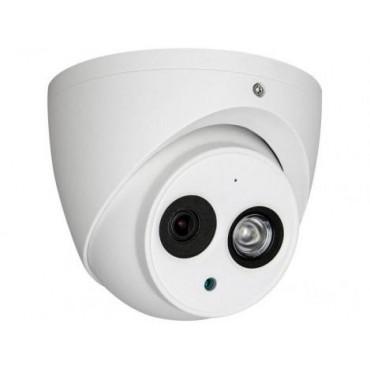 Camera dome HDCVI, FULL HD, lentila 2.8mm, microfon incorporat, Dahua HAC-HDW1200EM-A