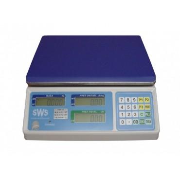 Cantar comercial SWS PMK 15/30 kg