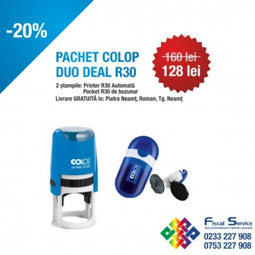 Pachet Colop duo deal R30